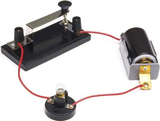 interruttore lampadina : Circuito interruttore-lampadina