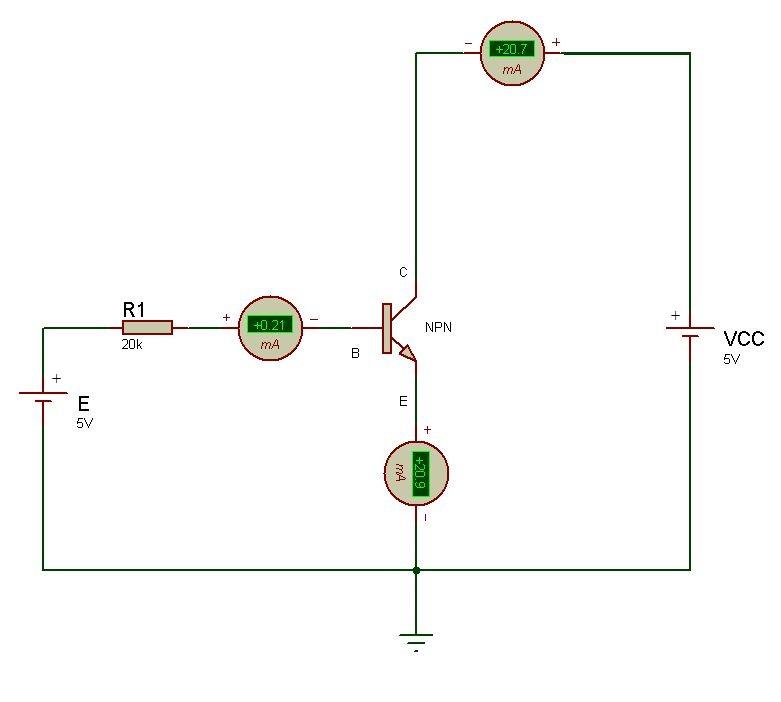 Circuito Transistor : Elemania